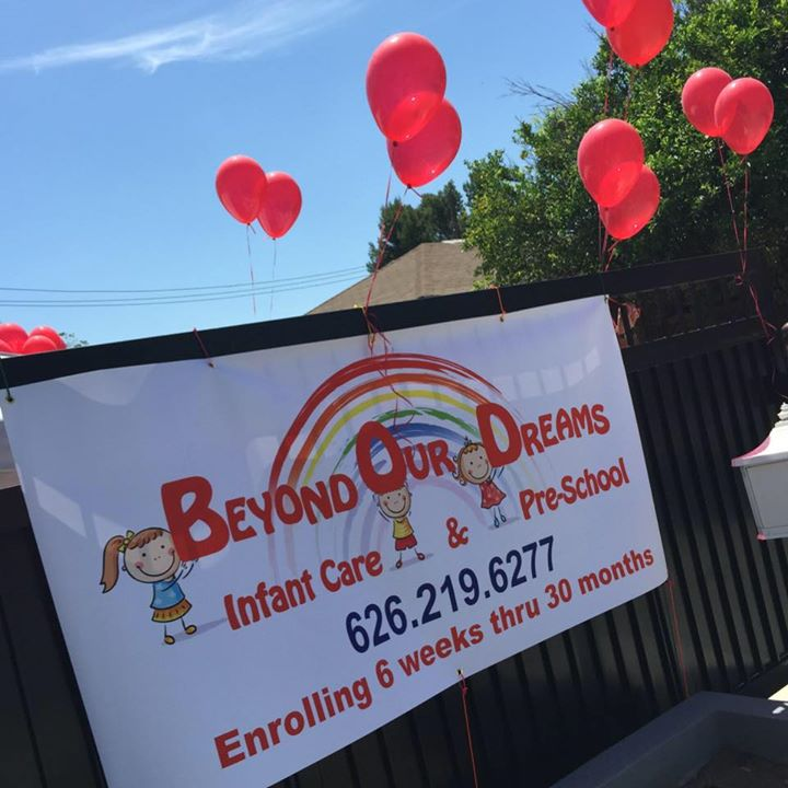 BEYOND OUR DREAMS INFANT CARE & PRE-SCHOOL,INC