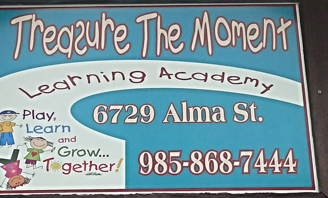 Treasure The Moment Learning Academy
