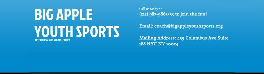 Big Apple Youth Sports, Inc. @ PS 151