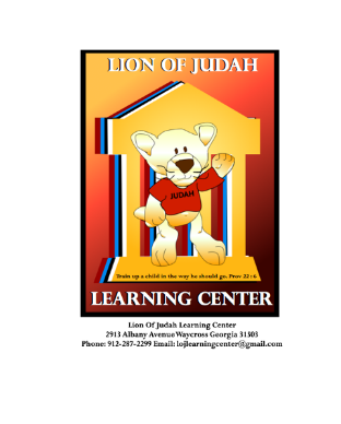 Lion of Judah Learning Center