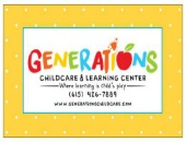 Generations Childcare and Learning