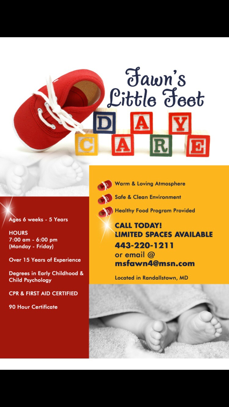 Little feet daycare randallstown md little feet daycare 1betcityfo Image collections