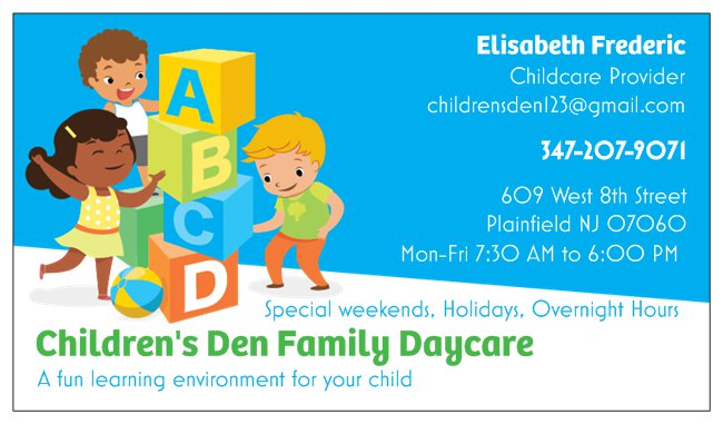 Children's Den Family Daycare