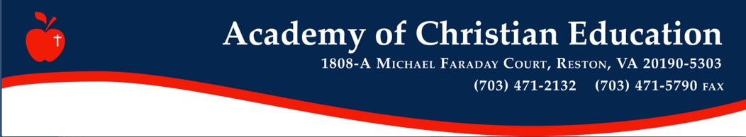 Academy of Christian Education