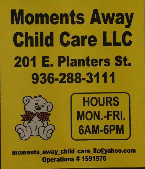 Moments Away Child Care, LLC