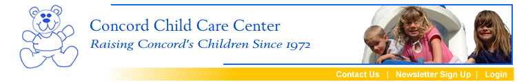 CONCORD CHILD CARE CENTER