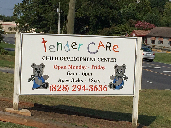 TENDER CARE CHILD DEVELOPMENT CENTER
