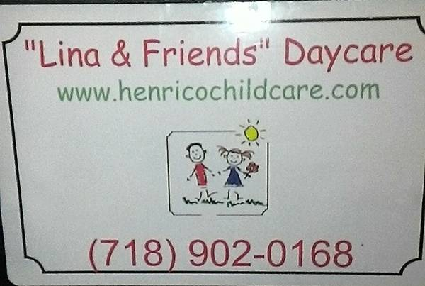Lina and Friends Home Daycare