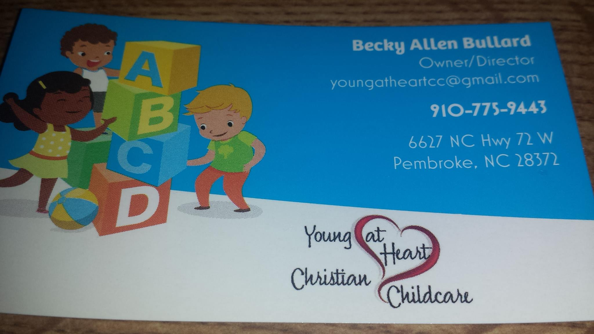 YOUNG @ HEART CHRISTIAN CHILDCARE