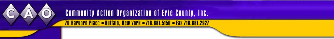 The Community Action Organization of Erie County, Inc.