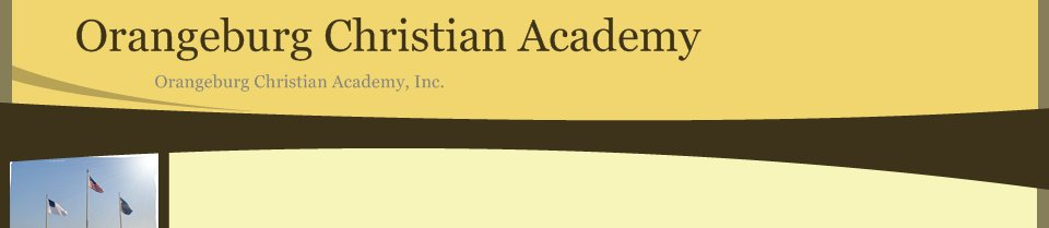 Orangeburg Christian Academy, Inc