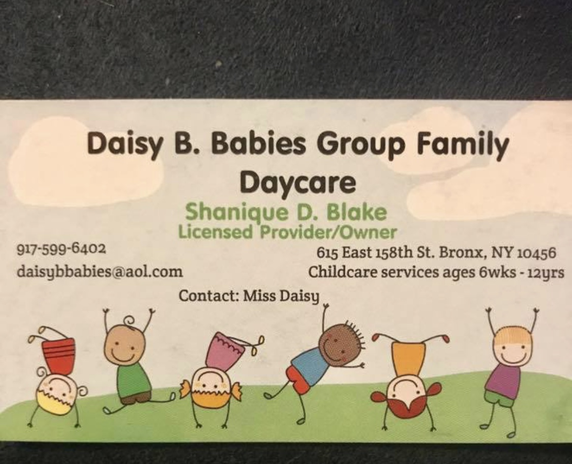 Daisy B. Babies Group Family Day Care