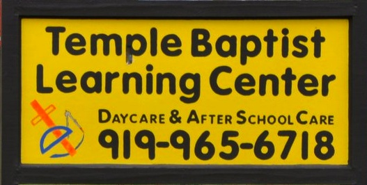 TEMPLE BAPTIST LEARNING CENTER MINISTRY