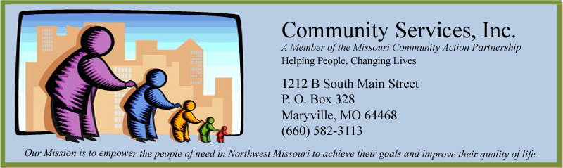 COMMUNITY SERVICES INC OF NORTHWEST MISSOURI