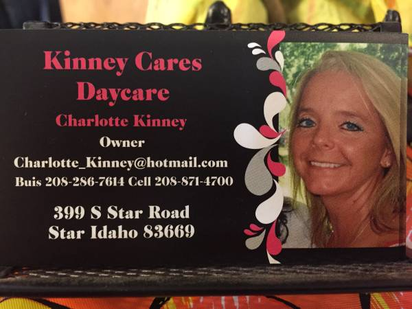 KINNEY CARES DAYCARE - STAR