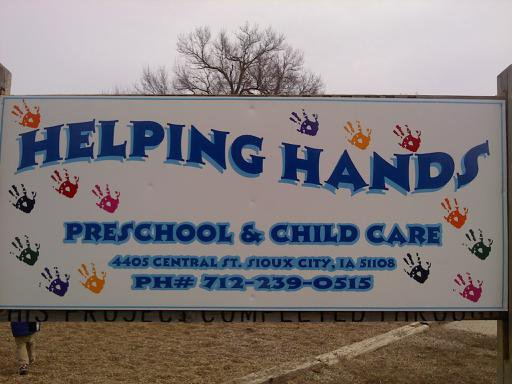 Helping Hands Preschool & Childcare Inc