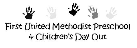 First United Methodist Preschool and Childrens Day Out
