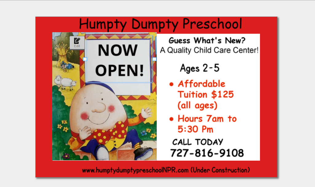 The Humpty Dumpty Preschool