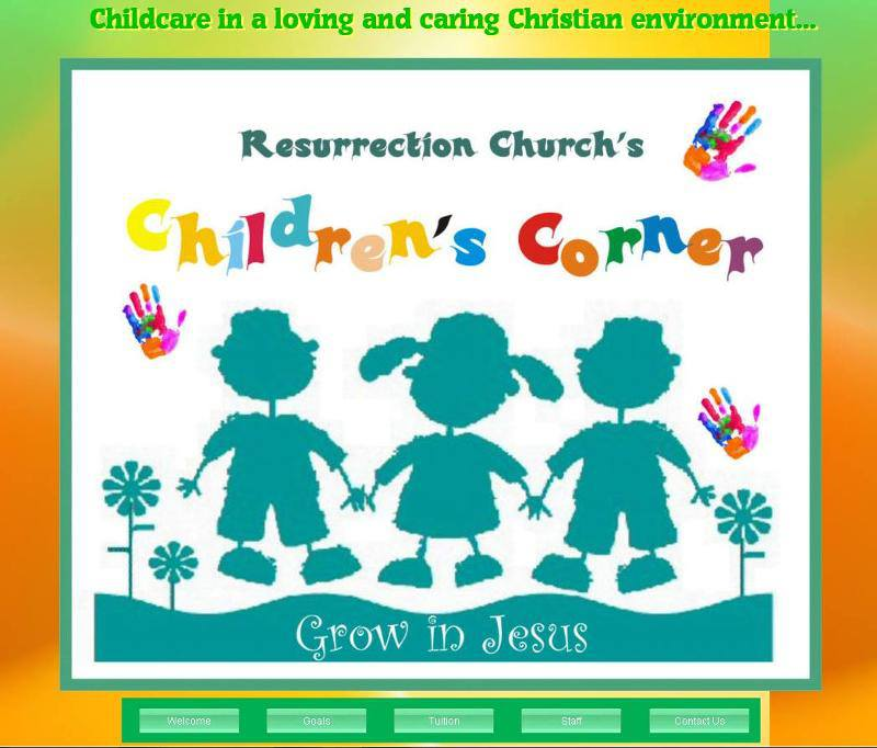 Resurrection Church Childrens Corner