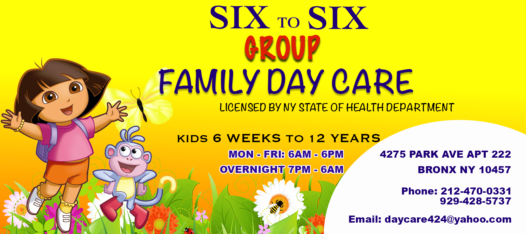 SIX TO SIX GROUP FAMILY DAY CARE