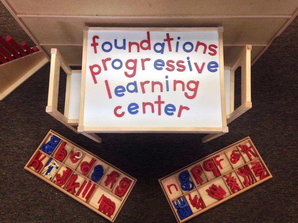 FOUNDATIONS PROGRESSIVE LEARNING CENTER