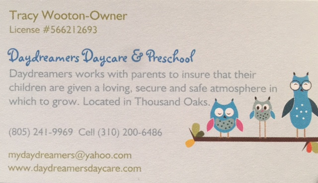 DAYDREAMERS DAYCARE