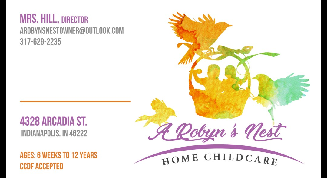 A ROBYN'S NEST HOME CHILDCARE LLC