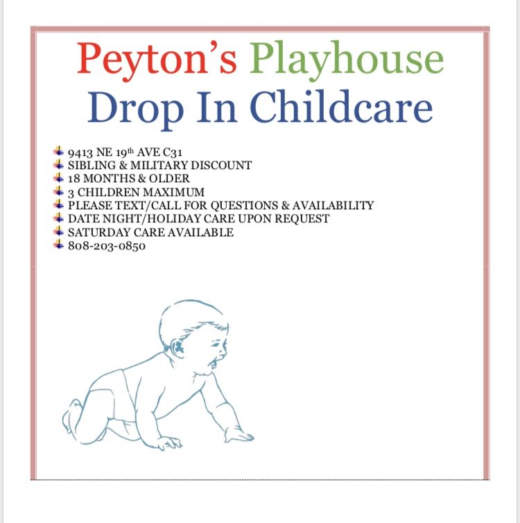 Peyton's Playhouse Drop In Childcare
