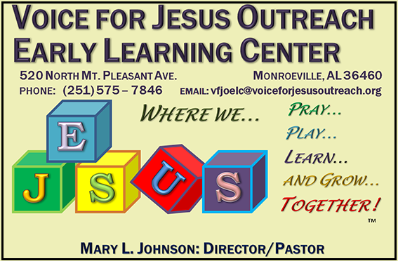 VOICE FOR JESUS OUTREACH MIN, INC.