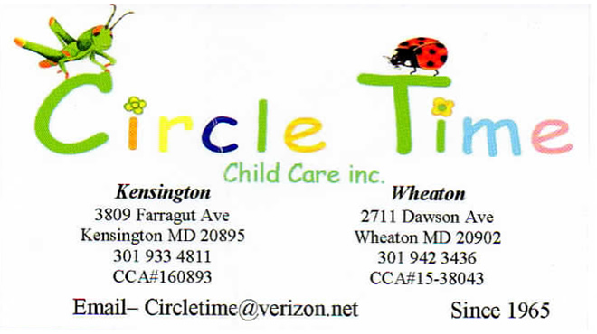 Circle Time Child Care @Kensington