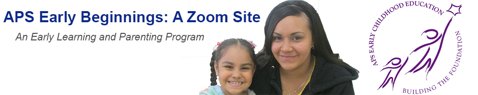 APS EARLY BEGINNINGS ZOOM SITE