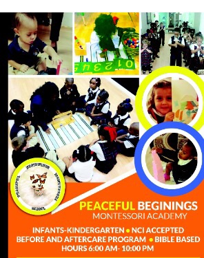 Peaceful Beginnings Montessori Academy, LLC
