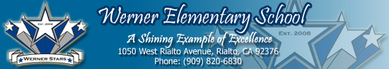 RIALTO USD CHARLOTTE WERNER ELEMENTARY