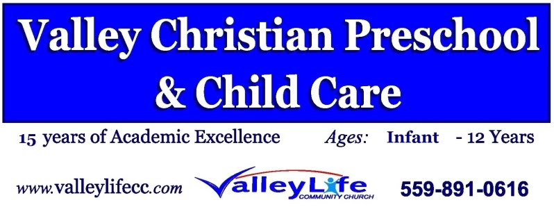 VALLEY CHRISTIAN PRESCHOOL