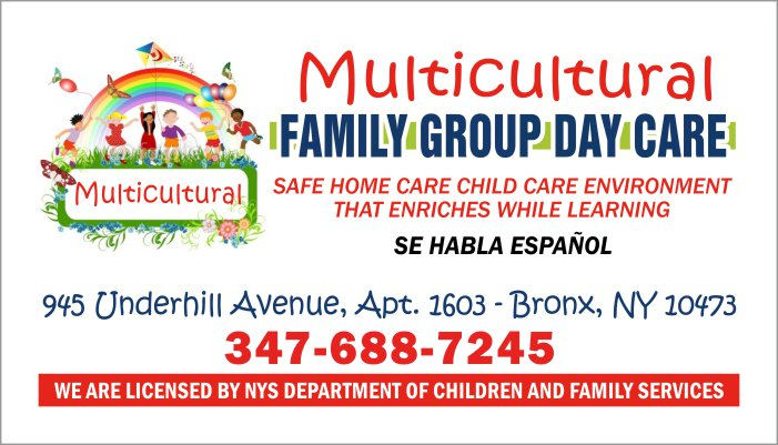 Multicultural Family Group Daycare