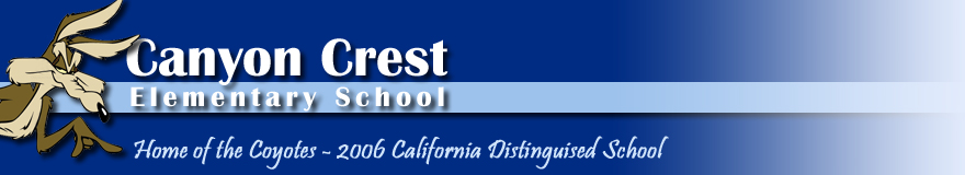 FUSD/CANYON CREST ELEMENTARY