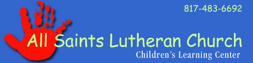 All Saints Lutheran Children Learning